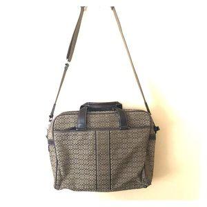 Authentic Coach Laptop/Briefcase